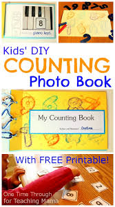 diy photo counting book for toddlers u0026 preschoolers one time through