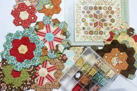 flower garden quilt pattern flower garden update english paper piecing quilt the little
