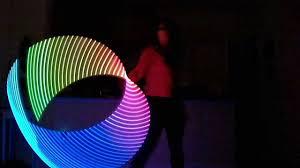 helix led hoop led helix hoop flow
