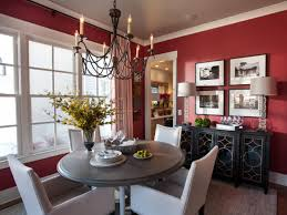 Red Dining Room Ideas Color Your Walls Diy
