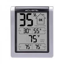 Recommended Basement Humidity Level - monitor temperature and humidity to control household mold acurite