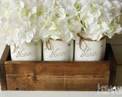 Mason Jar Vases Wedding Mason Jar Vase Etsy