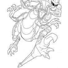power rangers spd coloring pages hellokids