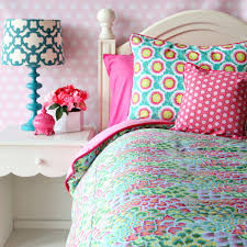 amusing blue and pink bedding best home decoration planner with
