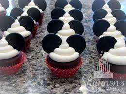 mickey mouse cupcakes mickey mouse theme cupcakes velvet cake with vanilla