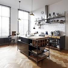 Industrial Design Kitchen by Best 25 Industrial Kitchen Island Ideas On Pinterest Industrial