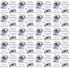 pug wrapping paper personalised gift wrapping paper pug dog pug birthday any