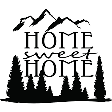 home sweet home quote wall sticker world of wall stickers
