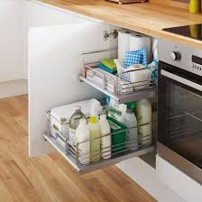Pull Out Kitchen Shelves by Internal Pull Out Drawer Kitchen Storage Solutions Howdens