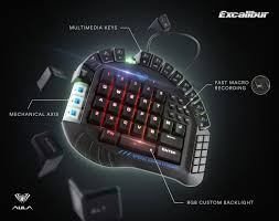 ugliest color hex code amazon com aula excalibur master one hand gaming keyboard