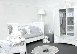 chambre bébé blanc chambre bebe gris et blanc open inform info