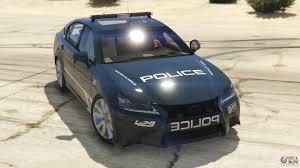 lexus gs mods lexus gs 350 pursuit police for gta 5