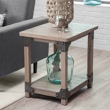 Belham Living Jamestown Rustic End Table Hayneedle