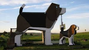 airbnb features listing of a dog shaped inn today com