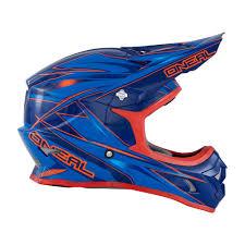 best motocross helmets oneal new 2016 mx 3 series hurricane dirt bike blue red