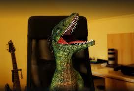 Raptor Meme Generator - laughing raptor meme generator imgflip