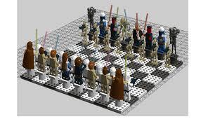 star wars chess sets lego ideas star wars chess set episodes 1 3