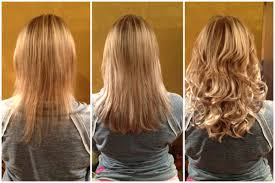 Hair Extension Birmingham by Clip In Hair Extensions Before After Indian Remy Hair
