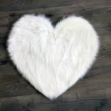 White Fur Area Rug Faux Fur Rugs You Ll Wayfair