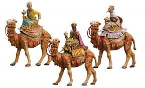 on camels figures for 5 inch nativity set from catholic
