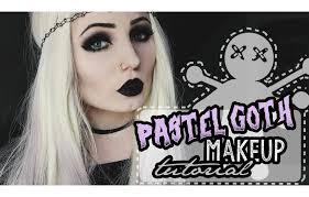 pastel goth makeup tutorial pt 4