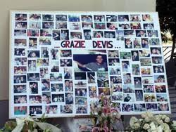 parrocchia ghiaie di bonate alle ghiaie l addio a davide in chiesa le foto degli amici