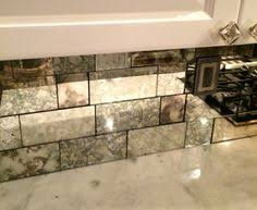 Mirrored Wall Tiles Hexagonal Silver Mirror Bevelled Wall Tiles Suitable For Any