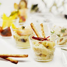 cuisine de a à z verrines salade de pommes de terre en verrines rapide recette verrine