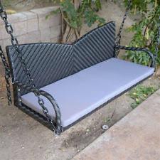 wicker patio u0026 garden swings ebay