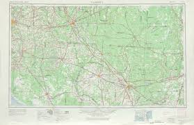 Map Orlando Florida by Valdosta Topographic Maps Fl Ga Usgs Topo Quad 30082a1 At 1