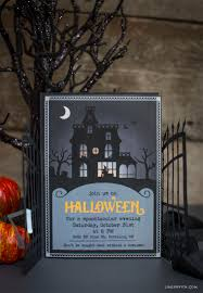 scary halloween party invitations paper cut halloween party invitations lia griffith