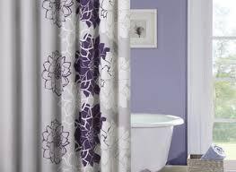 Purple Bathroom Curtains Gray And Purple Bathroom Sustainablepals Org