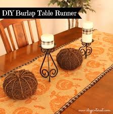 hobby lobby halloween crafts easy diy burlap halloween table runner i dig pinterest