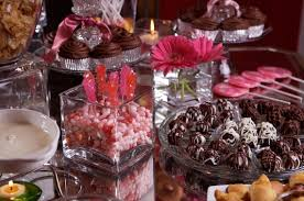 Chocolate Candy Buffet Ideas by Party Theme Plan A Girls Night U0027in U0027 Pajama Party U2014 Martie Duncan