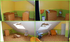 chambre b b vert chambre bebe jaune et vert