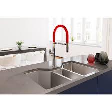 ruvati rvh8500 undermount 16 gauge 35 u2033 kitchen sink triple bowl
