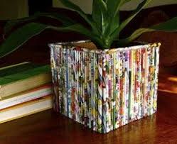 Best Out Of Waste Flower Vase Some Easy And Nice Diy Newspaper Wall Hangings And Décor Craft