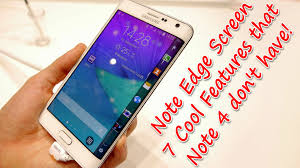 Wallpaper For Note Edge Screen | galaxy note edge screen 7 cool features that note 4 don t have