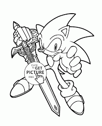 coloring pages amusing sonic coloring pages silver sonic
