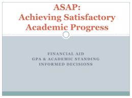 satisfactory academic progress university of massachusetts boston