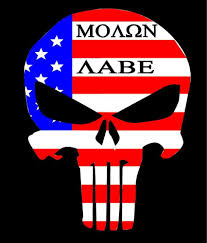 Flag Don T Tread On Me Punsher Skull American Flag Come And Take It Decal Sticker Dont