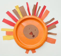 turkey plate craft easy paper plate turkey craft fantastic learning