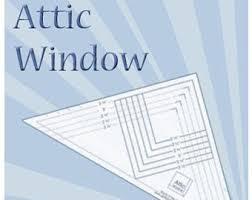 attic windows quilt etsy