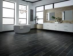 Black Wood Effect Laminate Flooring Spring Flooring Season The Black U0026 White Collection