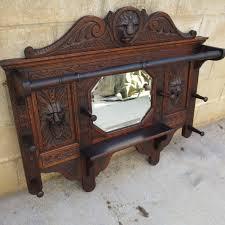 antique coat rack and mirror antique coat rack for classic home