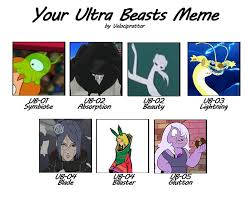 Sun Memes - velociprattor s ultra beast meme pok礬mon sun and moon know