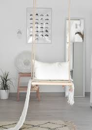 Swing Indoor Chair A Dreamy Indoor Swing Adds Style And Serenity