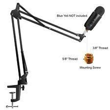 Microphone Desk Arm Microphone Boom Arm Stands Mounts U0026 Holders Ebay