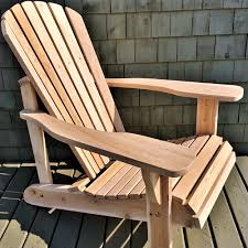 chaise adirondack adirondack chair in separated parts 9901s cedtek