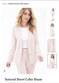 light pink blazer forever 21 jacket blush pink blazer forever 21 wheretoget fashion likes